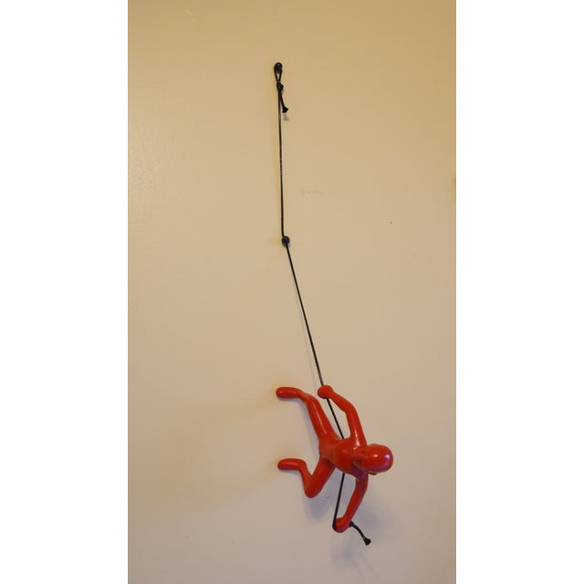 Red Climbing Man Wall Art - Image 2 of 3