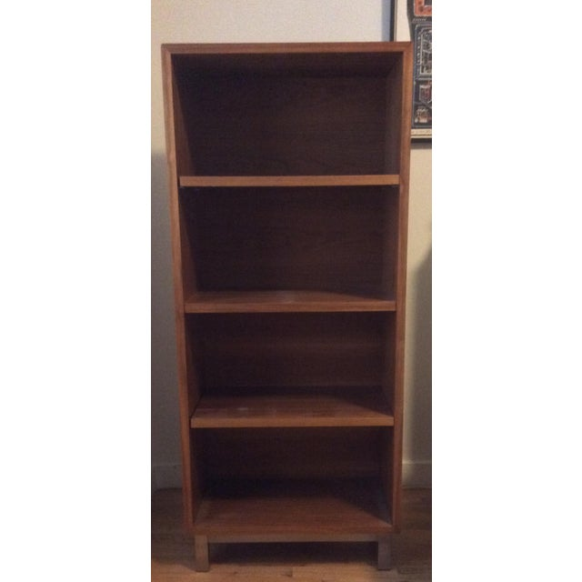 Room & Board Walnut Bookcase - Image 2 of 4