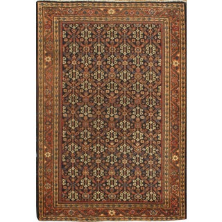 "Pasargad NY Hand-Knotted Mahal Design Rug - 4'6"" X 6'8"""