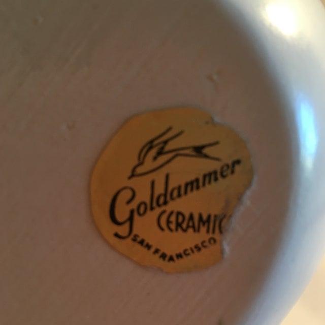 Vintage Goldammer Ceramics of San Francisco Vase - Image 6 of 7