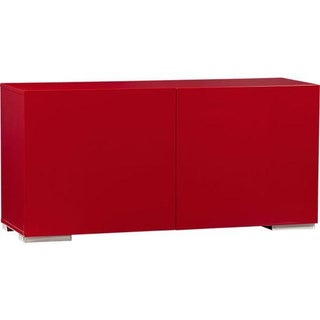 CB2 Fuel Credenza in Red