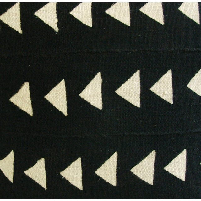 Image of Custom African Tribal Textile Pillows - Pair