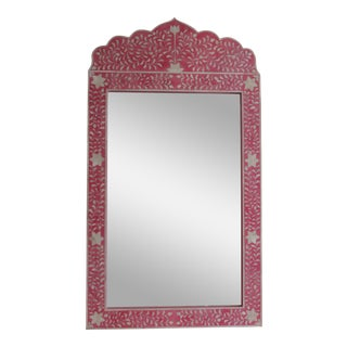 Pink Bone Inlay Mirror