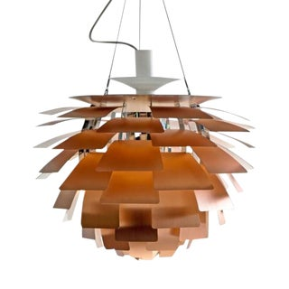Poul Henningsen Ph Artichoke Copper Lamp