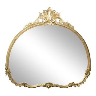 Vintage Gilded Gold/ Silver Mirror
