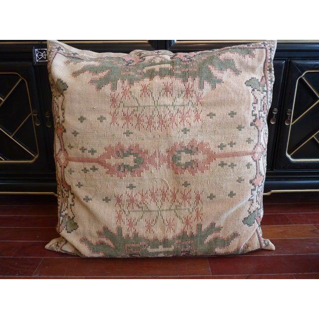Flat Weave Tapestry Floor Pillow Chairish