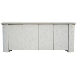 Neo-Classical Textured Credenza