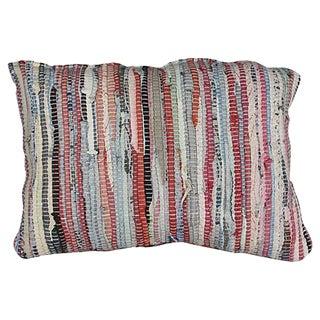 Moroccan Boucherouite Sham Striped II
