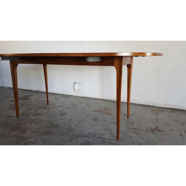 Image of Broyhill Brasilia Walnut Drop Leaf Dining Table