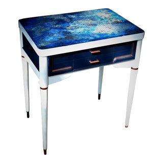 Designer Table With Art Top