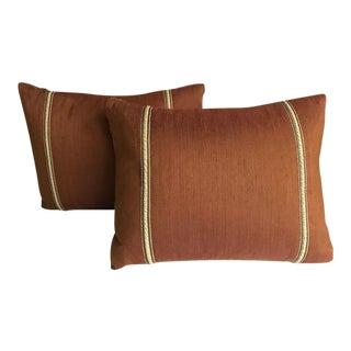 Custom Down Filled Pillows - A Pair