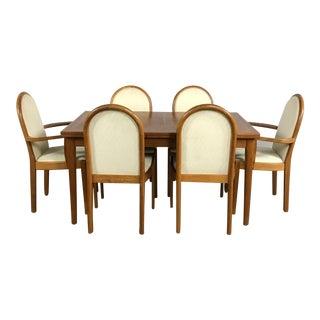 Scandinavian Teak Dining Set