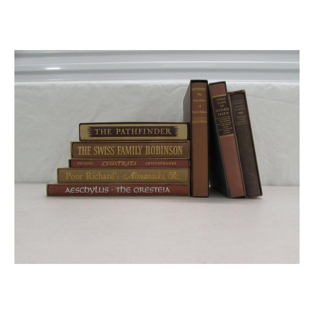 Image of Brown Slipcased Classics Collection - Set of 8