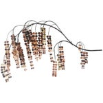 Image of Curtis Jere Copper Weeping Willow Wall Hanging