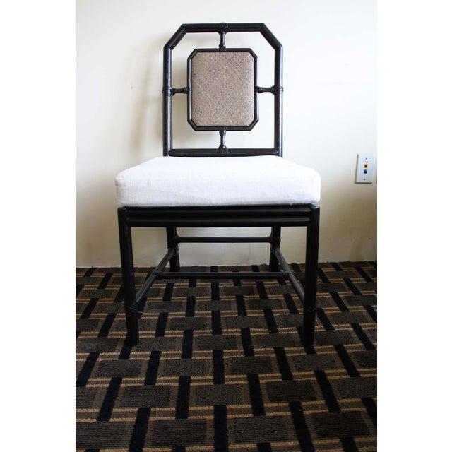 McGuire Harlan Side Chair in Gunmetal - Image 2 of 8