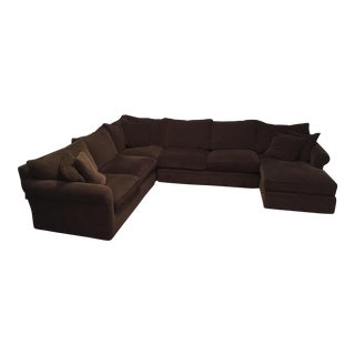 Room & Board Kendall Collection L-Shaped Sectional With Right Arm Chaise