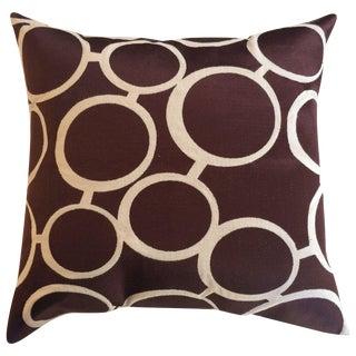 Trina Turk Brown Spectacles Pillows - A Pair