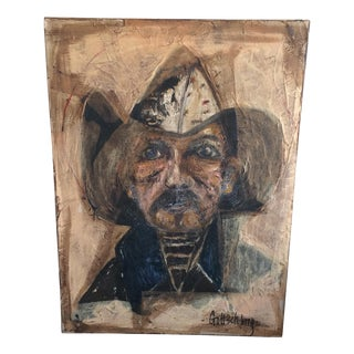 Old Fisherman Oil Painting