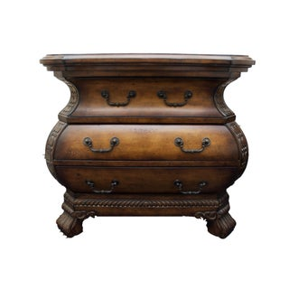 Horchow Bombe Chest Nightstands- A Pair