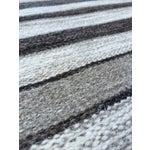 Image of Handwoven Striped Ethnic Wool Rug - 2′3″ × 3′9″