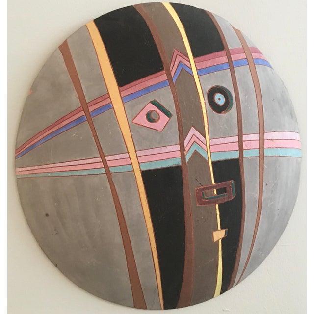 Louis Mendez Studio Pottery Wall Mask - Image 3 of 5