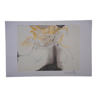 """Pegase""-Ltd. Ed. Lithograph-Salvador Dali-1983"