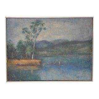 Laughton Impressionist Landscape Painting