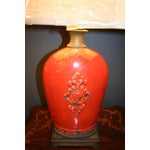 Image of Large Tuscan Red Table Lamp