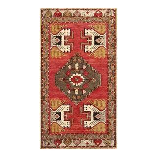 "Pasargad Vintage Sivas Wool Area Rug - 1' 8"" X 3' 2"""