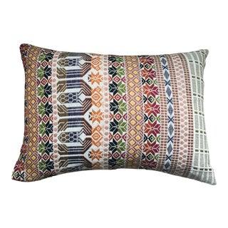 Vintage Guatemalan Textile Pillow