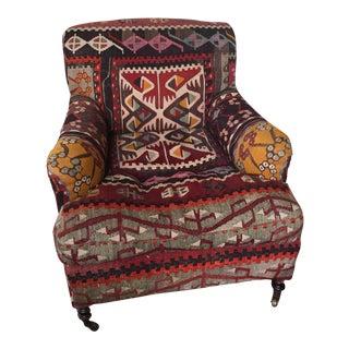 George Smith Kilim Medium Side Chair