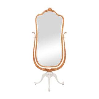 1904 Widdicomb Mahogany Cheval Mirror