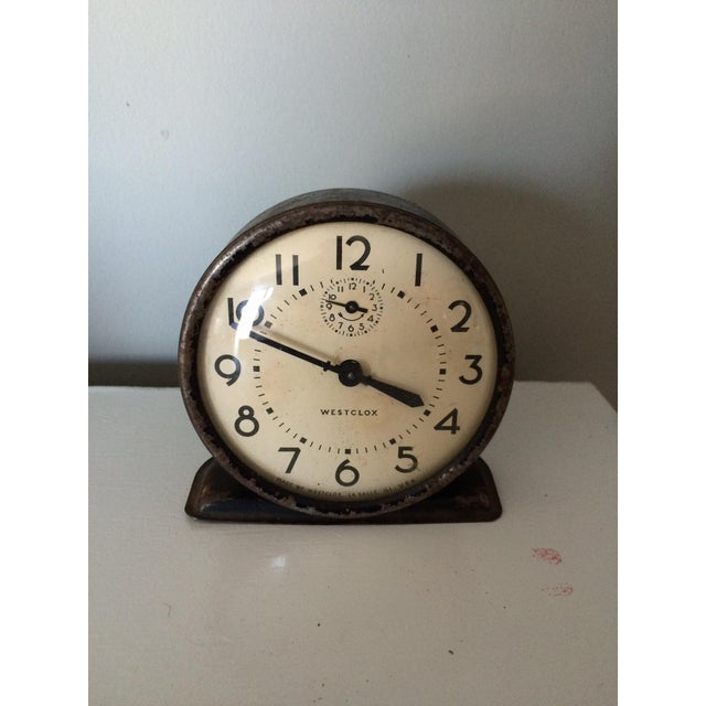 Vintage Industrial-Style Clock - Image 2 of 4