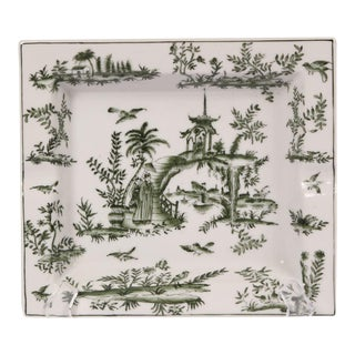 Pagoda Design Porcelain Tray