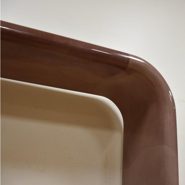 Karl Springer Style Modern Console Table - Image 9 of 10