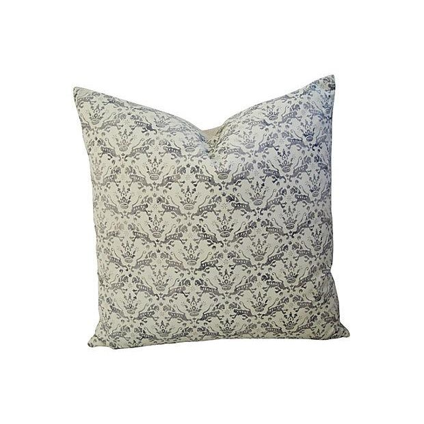 Custom Brunschwig & Fils Imperial Pillows - A Pair - Image 6 of 7