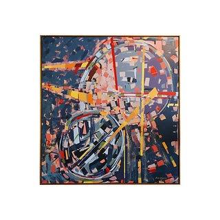 Abstract Acrylic Painting by Sinai Waxman