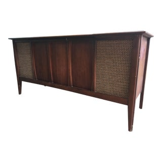 1960s Mid-Century Modern Zenith Record Stereo Console