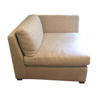Restoration Hardware Belgium Linen Sofa Chair