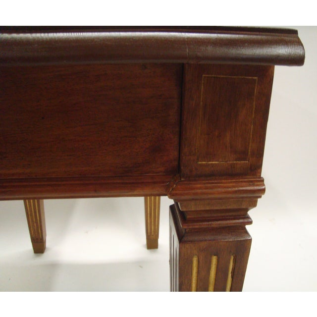 19th Century Swedish Mahogany Console - Image 7 of 7