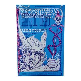 Lee Conklin Postcard Grateful Dead 1968 T Lautrec