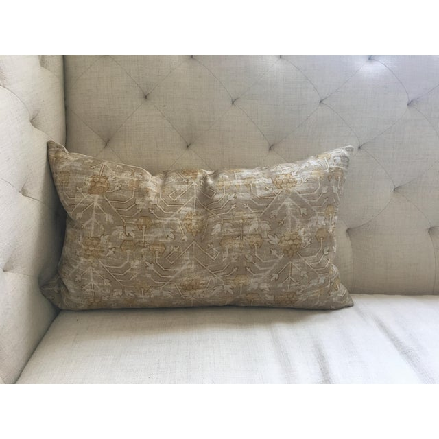 "Zak & Fox Khotan Custom Pillow Cover - 24""x14"" - Image 3 of 8"