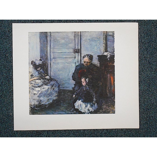 Vintage Bonnard Lithograph - Image 2 of 3