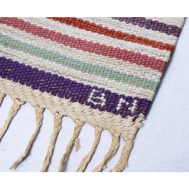 Vintage Barbro Nilsson Flat-Weave Swedish Carpet for Marta Maas-Fjetterström - Image 10 of 10
