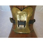 Image of Vintage Copper and Brass Boot Umbrella Stand