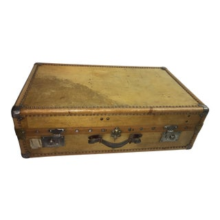 Old English Vellum Trunk & Trays