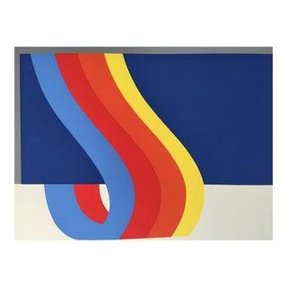 Nadine Pardo 1972 Abstract Silkscreen