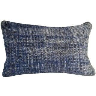 Vintage Blue -Pillowcase-Overdyed-12x20