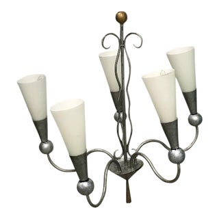 French Mid Century Style Chandelier