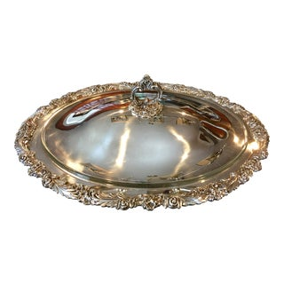 Silver Plated Reed & Barton Covered Serving Dish